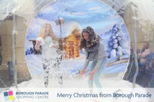 Borough Parade Snow Globe 2