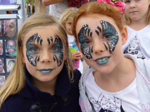 Event Face Painting Borough Parade